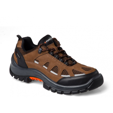 ZAPATILLA C/PUNTERA ACERO WALKING LANDER - MARRON 39