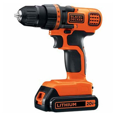 TALADRO ATORNILLADOR 20 V ION-LITIO BLACK & DECKER