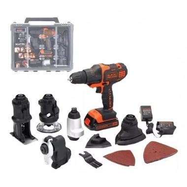 MULTIHERRAMIENTA MATRIX 6 EN 1 BLACK & DECKER