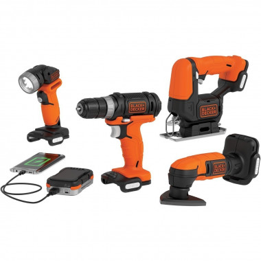 COMBO MULTIHERRAMIENTAS GO PACK BLACK & DECKER