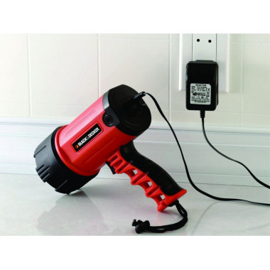 LINTERNA RECARGABLE LED BLACK & DECKER