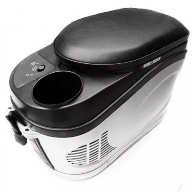 HELADERA PORTATIL COOLER 12 V 6 L BDC204-LA BLACK & DECKER
