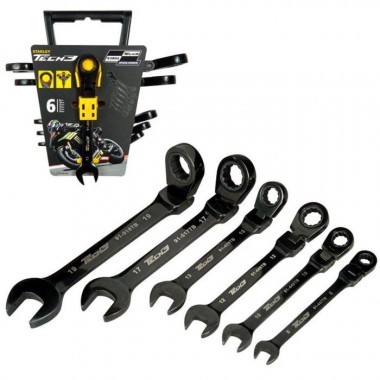 SET TECH3 STHT9-91444 6 LLAVES STANLEY