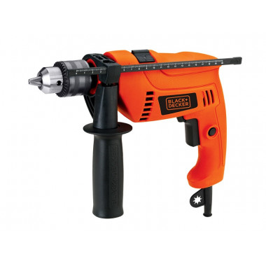 TALADRO C/PERCUTOR HD555 C/MALETIN BLACK & DECKER