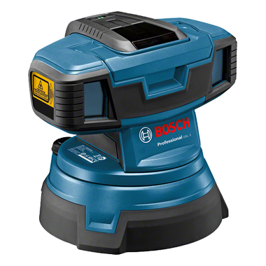 NIVEL LASER DE SUPERFICIE - GSL2 +/- 0.3 MM/M - 20 M BOSCH